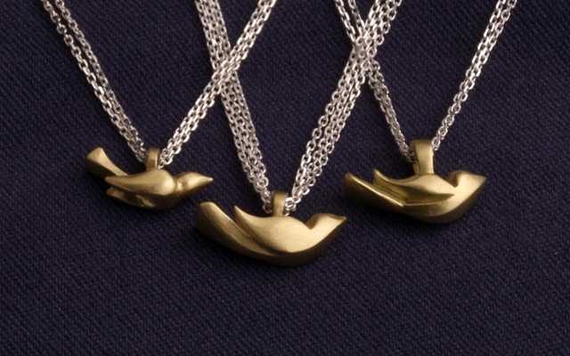 One of a Kind Bird Necklaces